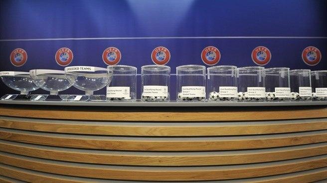 Первые жеребьевки Лиги чемпионов