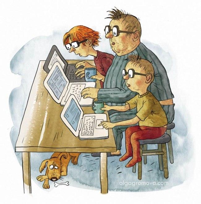 Семейный отдых в наши дни: