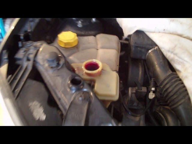 Замена масла в гидроусилителе руля Ford Fusion