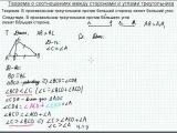 Б7.1 Соотношения между сторонами и углами треугольника