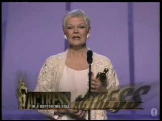 Джуди Денч – Премия Оскар (21.03.1999). Лучшая актриса второго плана - «Влюбленный Шекспир»