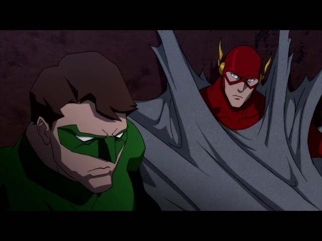 Лига справедливости Парадокс источника конфликта Justice League The Flashpoint Paradox Arasi Project LE Production