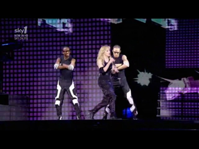 Madonna Give It 2 Me Sticky Sweet Tour in Buenos Aires