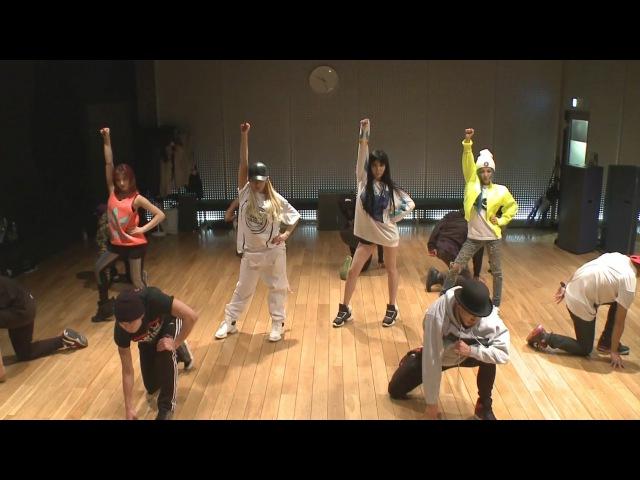 2NE1 'COME BACK HOME' Dance Practice