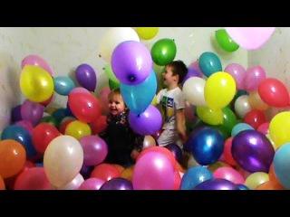 Mister Max - Baloons Шарики дети воздушные шарики шары много цветных шариков
