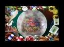 Дымчатый декупаж В технике дымка декорируем тарелку и часы Мастер класс Ната