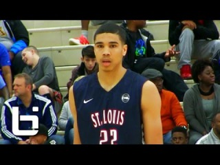 Nation's Top 17 year old Jayson Tatum Spring Highlights (Raw Footage)