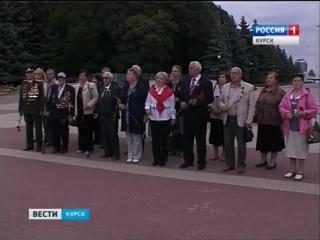 Делегация из Санкт-Петербурга посетила госпиталь ветеранов войны - YouTube