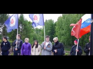В Туле 18 мая на улице Маршала Жукова состоялось торжественное открытие сквера 70-летия Победы.