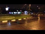 BMW E30 M3  с 07 региона зажигает в Москве