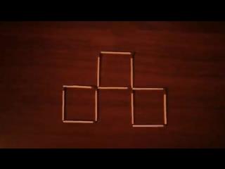 Головоломка со спичками (4) с ответом