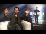 John Wick - Keanu Reeves Interview With KISS FMs Neev