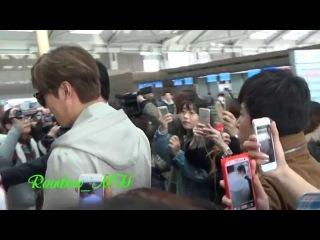 [직캠] 20150320 LeeMinHo at Incheon Airport going to HongKong~~by Rainbow_MH