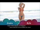 Jessica Rabbit Kylie Супер красивая блондинка на пляже