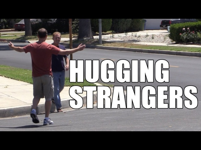 MediocreFilms - Hugging Strangers! Happiness