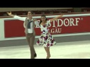 2015 Nebelhorn Trophy Ice Dance Short Dance Lorenza ALESSANDRINI Pierre SOUQUET