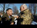 Александр Захарченко чуть не подрался с офицером ВСУ. Новороссия новости.