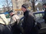 Початок Ходи від Палацу Спорту. Вибух. Харків, 22.2.2015