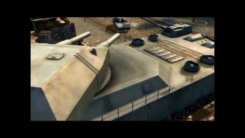 World of Tanks 9.20.1 - Landkreuzer Ratte Gameplay
