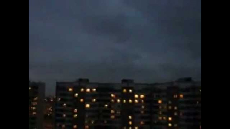 UFOs over Moscow (Russia, 2009)