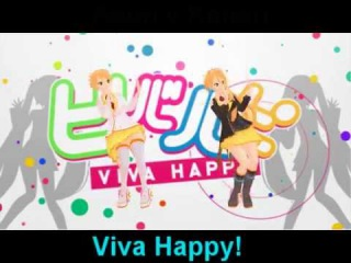 ~MMD~Viva happy [Anon and Kanon] [Motion download ]