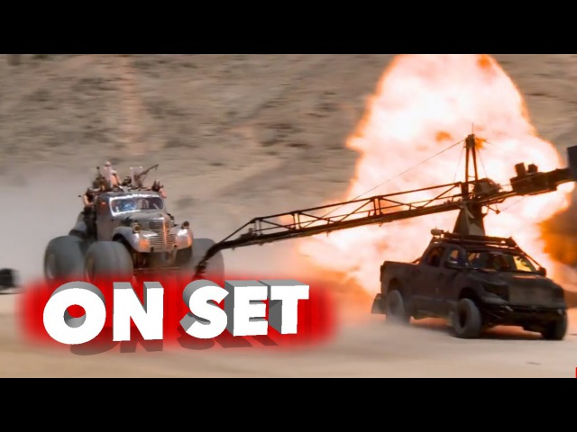 Mad Max Fury Road Full Behind the Scenes Movie Broll Tom Hardy Charlize Theron