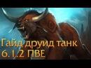 Друид Танк (Медведь) 6.1.2 PvE гайд