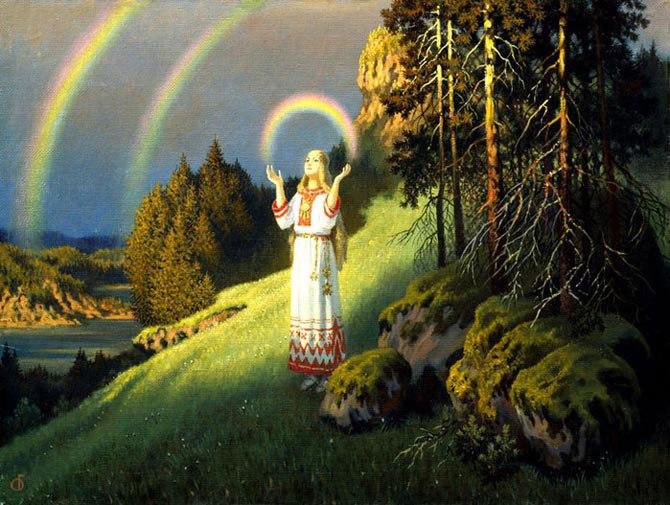 Главной богиней рождения и плодородия у древних славян, подательницей Жизненной Силы Рода, делающей всё живое живым — была Богиня Жива. Слово «жизнь», как известно, в древности произносилось как «живот», и означало существование, тело, имущество.