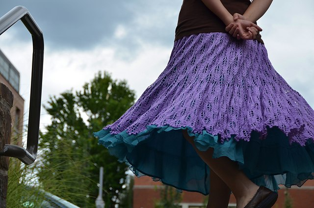 想给自己织条裙子吗? - maomao - 我随心动