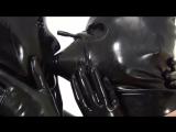 Blackmask mit S. Breathplay Full Latex #KinkyRubber