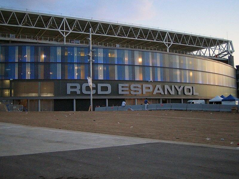 Стадион Корнелья-Эль Прат (Estadio Cornella-El Prat). Барселона, Испания.