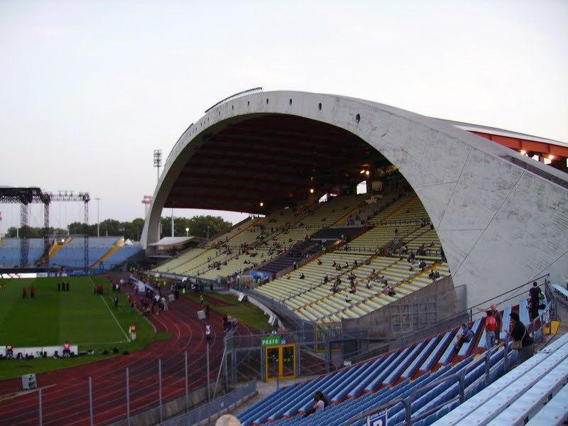 Стадион Фриули (Stadio Friuli). Удине, Италия.