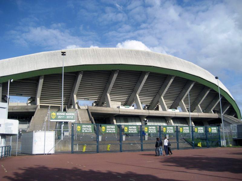 Стадион ля Божуар — Луи Фонтено (Stade de la Beaujoire — Louis Fonteneau). Нант, Франция.
