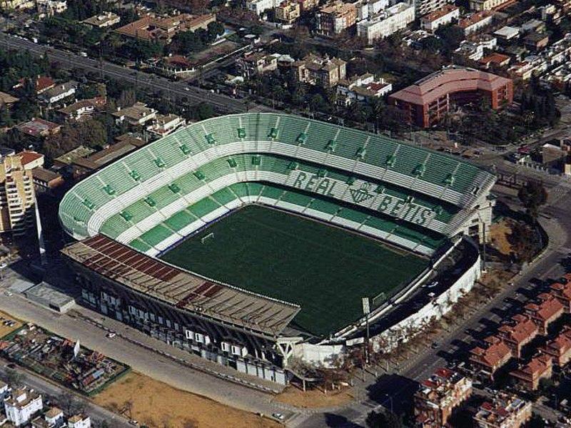 Стадион Бенито Вильямарин (Estadio Benito Villamarin). Севилья, Испания.