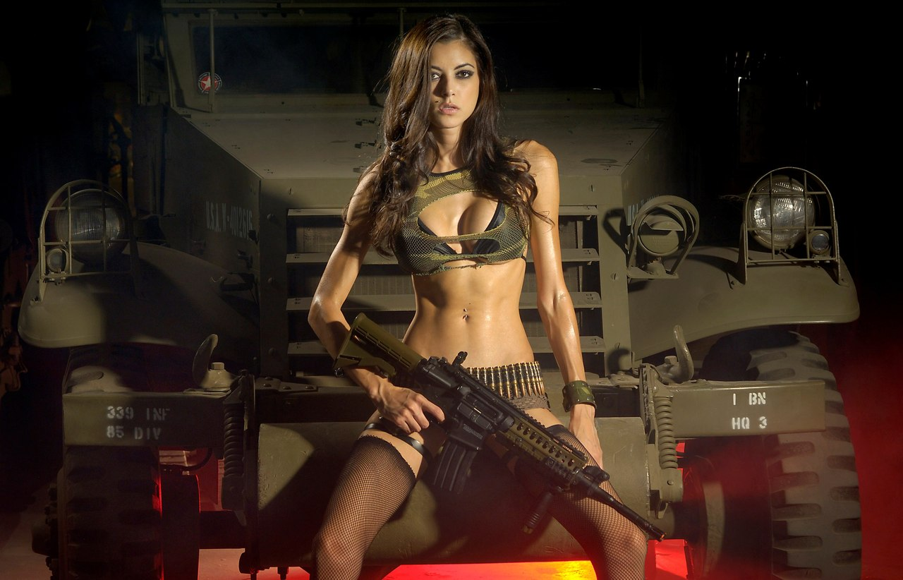 Naked girls with guns pictures xxx pic