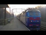 «Україна» ЧС8-075 з поїздом 5 Москва - Київ