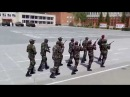 Курсанты высшего военного училища Новосибирска из Мозамбик ,поют песнюМамамба!