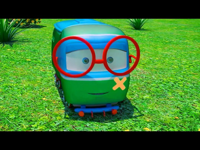 3D Cartoons for Kids. TRAINS. George 2000. Animation for kids