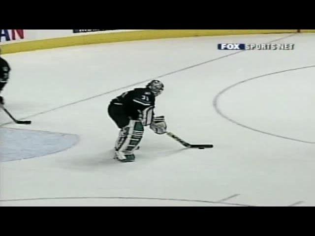 TBT - Evgeni Nabokov Scores a Goal