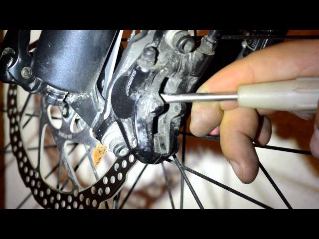 Shimano BR M615 BRAKE G01S PADS CHANGEЗамена тормозных колодок ЗАМІНА