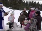 Конкурс снежных фигур на базе «Метеорит» — ТВ-Оханск