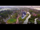 Thailand nice scene Bird eye view Aerial Cinema