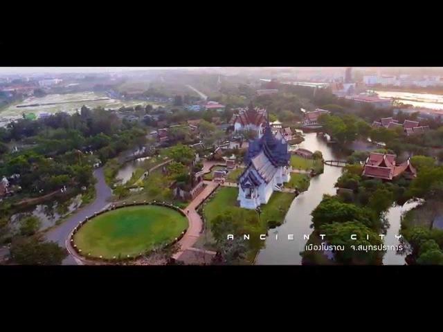 Thailand nice scene Bird eye view Aerial Cinema