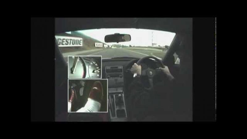 Senna drive the NSX-R in suzuka