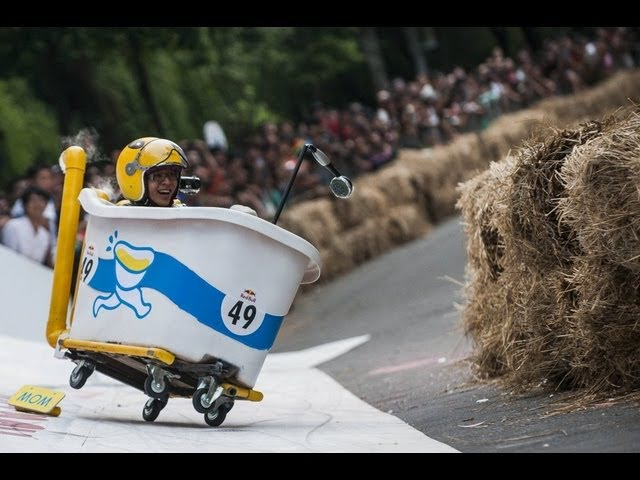 Taiwan's first Red Bull Soapbox Race 2013