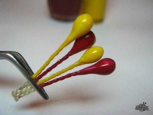 Как сделать тычинки для цветов (8 фото) - картинка