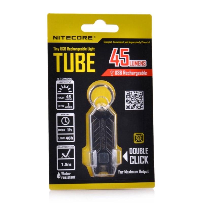 Tmart: Купон на водостойкий фонарь наключник от NITECORE