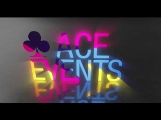 Анимация логотипа для агентства Ace Event