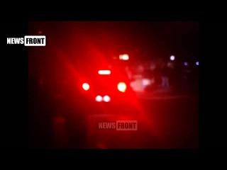 Константиновка. Стихийный бунт местных жителей после кошмарного ДТП 16.03.15