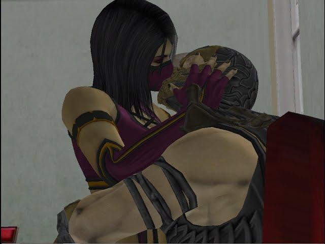 Mileena Scorpion - Just a Kiss